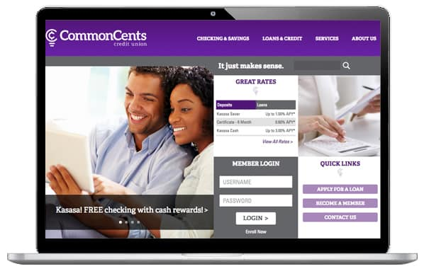 CommonCents CU Website