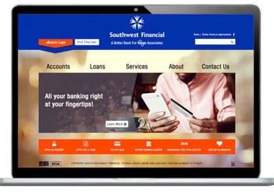 SW Financial CU Website