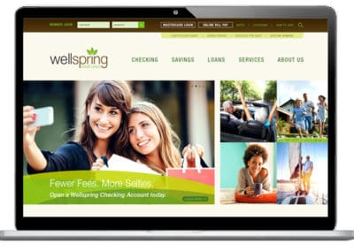 Wellspring CU Website