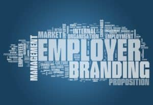 word tree with employer and branding written the largest
