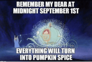 Credit union and bank marketing strategies can learn from the Starbucks pumpkin spice calendar.