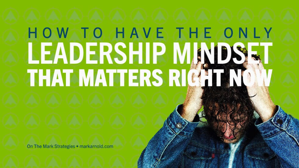 The One Leadership Mindset for Growth in Change
