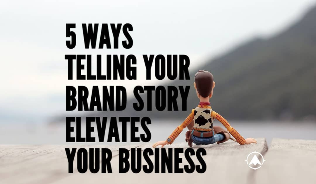 hero image of woody on dock showing how telling your brand story elevates your business